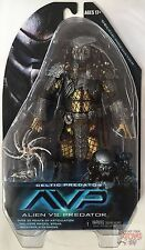 "CELTIC AVP NECA Series 14 Alien VS Predator 2015 7"" Inch 'damaged' ACTION FIGURE"