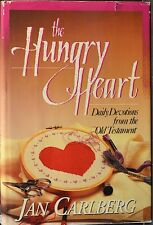 """JAN CARLBERG Signed 1st Ed HC/DJ Book by Author """"THE HUNGRY HEART"""" COA"""