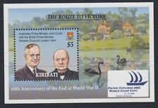 CHURCHILL :2005 KIRIBATI End of World War II M/Sheet SGMS740 MNH