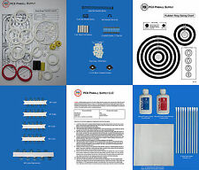 1986 Williams Road Kings Pinball Deluxe Tune-up Kit - Includes Rubber Ring Kit!