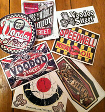 Kustom Sticker Pack, VINTAGE, patina, Ratto, screen, occulto, Voodoo, Speed shop