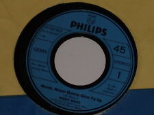 "BARRY WHITE -Never, Never Gonna Give Ya Up- 7"" 45"