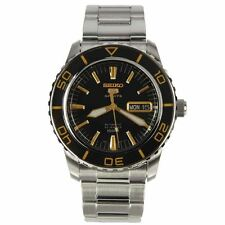 Seiko Analog Sport Mens 5 SPORTS Silver Watch SNZH57K1