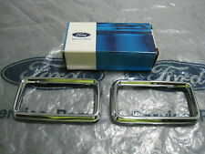 XA XB GT FALCON GENUINE FORD NOS SET OF INTERIOR DOOR HANDLE SURROUNDS ZF ZG