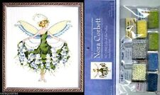 Mirabilia Cross Stitch Chart with Embellishment Pack ~ LILY OF VALLEY #129 Sale