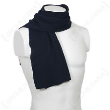Original German Army Air Force BLUE WOOL SCARF - Luftwaffe Neck Scarves