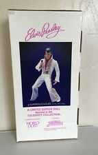 "ELVIS PRESLEY 1984 Celebrity Collection *Supergold* Elvis 21"" All Vinyl Doll)"
