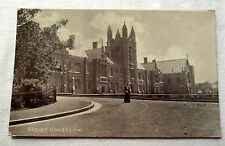 B&W Photo Postcard of The University in Sydney, Australia Mid 1900's