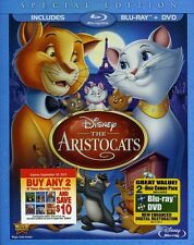 Aristocats [Special Edition] [ (2012, Blu-ray NIEUW) BLU-RAY/WS/Special ED.2 DIS