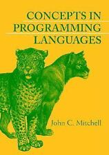 Concepts in Programming Languages by John C. Mitchell (2003, Hardcover) 1ST ED