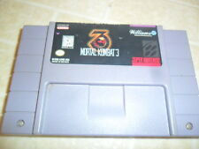 Mortal Kombat 3 (Super Nintendo Entertainment System, 1995)