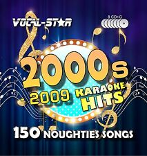 VOCAL-STAR 00s CDG CANZONI KARAOKE DISCO Pack CD + G 6 DISCHI 113 CANZONI