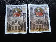 VATICAN - timbre yvert et tellier n° 1083 x2 obl (A28) stamp (Z)