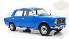 soviet russian Lada 1200 Vaz 2101 Zhiguli blue IST VVM 1:18