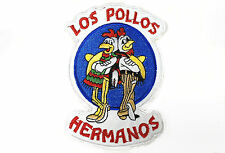 Los Pollos Hermanos chicken logo Breaking Bad embroidered iron on patch 5""