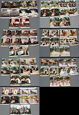 Lot of 35 Genuine WHITING SCULPTOSCOPE STEREOVIEW LITHO CARDS ASSORTED SCENES