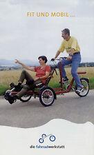 Il prospetto officina bicicletta strada Tandem 2007 opuscolo speciale BICICLETTA BIKE