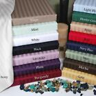 1000TC 100% SOFT EGYPTIAN COTTON ALL BEDDING ITEMS SELECT US-SIZE&STRIPE COLOR