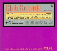 Club sounds-vol. 49 NEUF 3 CD novaspace Brooklyn Bounce royal gigolos Alcazar
