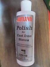 Rutland Liquid Stove Polish. MFG. #72  1/2 Pt.  NEW