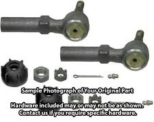 *PAIR OF 2* Outer Tie Rod Steering End, Driver and Passenger Side SAE-ES2513RL