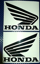 2x Honda Wings (Pair) Tank Helmet Motorcycle Van Car Vinyl Decals Stickers
