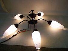 Alte Sputnik Deckenlampe, Vintage Lampe 50er 60er Jahre Space Age Hängelampe