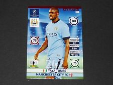 YAYA TOURE MANCHESTER CITIZENS UEFA PANINI FOOTBALL CHAMPIONS LEAGUE 2014 2015