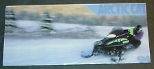 "1994 ARCTIC CAT THUNDERCAT SNOWMOBILE  SALES BROCHURE 4"" x 8 1/2""   (212)"