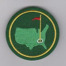 AUGUSTA GOLF MASTERS GREEN JACKET PATCH NATIONAL GOLF PGA TOUR
