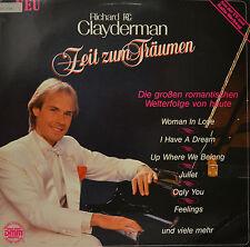 """RICHARD CLAYDERMAN - ZEIT ZUM TRÄUMEN   12"""" LP (N510)"""