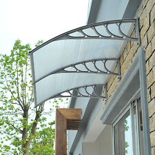 UV Protection Outdoor Window & Door Awning Canopy Patio Polycarbonate