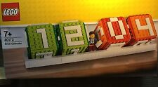 LEGO 40172  Brick Calendar With  Minifigure-BNISB