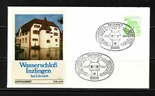 West Germany 1980 Inzlingen First Day Cover Mint SGB1808b