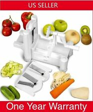 K3 Tri-Blade Vegetable Spiral Slicer Spiralizer Veggie Fruit Cutter 3in1