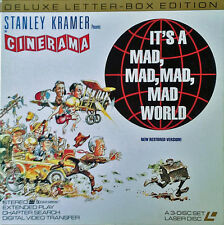 IT'S A MAD, MAD, MAD, MAD, WORLD - (3) DVD BOX SET - MGM - DELUXE LETTERBOX ED.