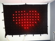 Motion LED Video Curtain Drape Lights - 176 LEDs 18cm spacing - Crazy Lights