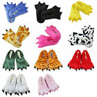 Children Women Men Cartoon Animal Slipper Claw Paw Shoes Cosplay Pajamas Costume