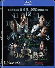 "Peter Knight ""3 AM"" Toni Rakkaen Thailand  2D + 3D Horror Region A  Blu-Ray"