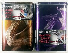 Ultra Pro Deck Vault Set PURPLE + BRONZE Dragon Nesting Ciruelo