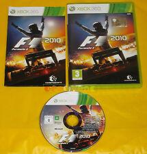 FORMULA 1 2010 XBOX 360 Versione Italiana 1ª Edizione F1 F 1 ••••• COMPLETO