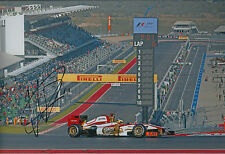 Pedro De La ROSA SIGNED Autograph 12x8 Photo AFTAL COA F1 Grand Prix of America