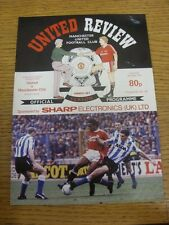 04/03/1991 Manchester United v Manchester City  (Small Scuff Marks). Thanks for