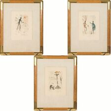 Salvador Dali (1904-1989) Three Works from the Shakespeare Series, Lit... Lot 14