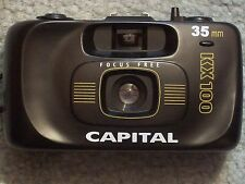 CAMERA CAPITAL 35mm KX100 CAMERA  FOCUS FREE  MADE IN CHINA