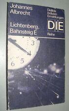 DIE- Reihe Johannes ALBRECHT Lichtenberg, Bahnsteig E 1989
