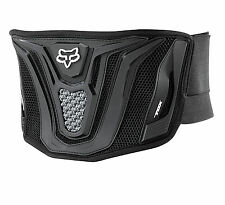 NEW FOX RACING MX BLACK BELT KIDNEY BELT GUARD ADULT MENS BACK MX ATV OFFROAD