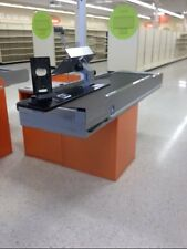Royston Motorized CHECKOUT COUNTER Used Grocery Supermarket Store Equipment