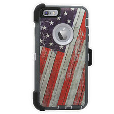 Defender Protective Case Camo w/Clip & Protector For iPhone 6 plus / 6S Plus