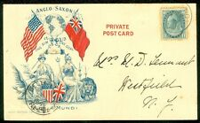 CANADA : Anglo Saxon Advert cover. Willoughby, Ont., Canada. Oct 22 1898 cancel